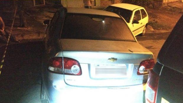 Homem morre após roubar carro e trocar tiros com uma equipe da Rotam, em Goiânia