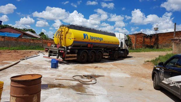 Três pessoas são presas por adulterar combustível em lava jato no Jardim Novo Mundo, em Goiânia