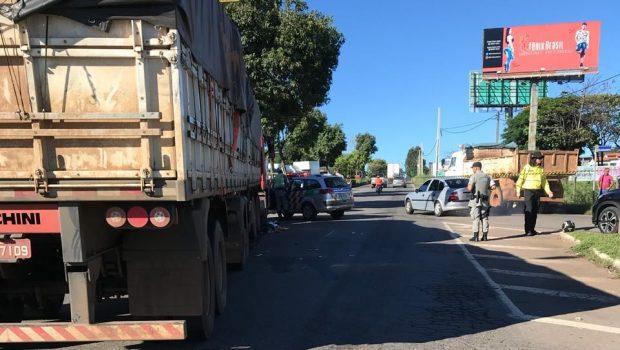 Grávida morre em acidente de trânsito na Avenida Perimetral Norte, em Goiânia