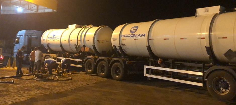 60 mil litros de combustível roubado são recuperados em Maurilândia