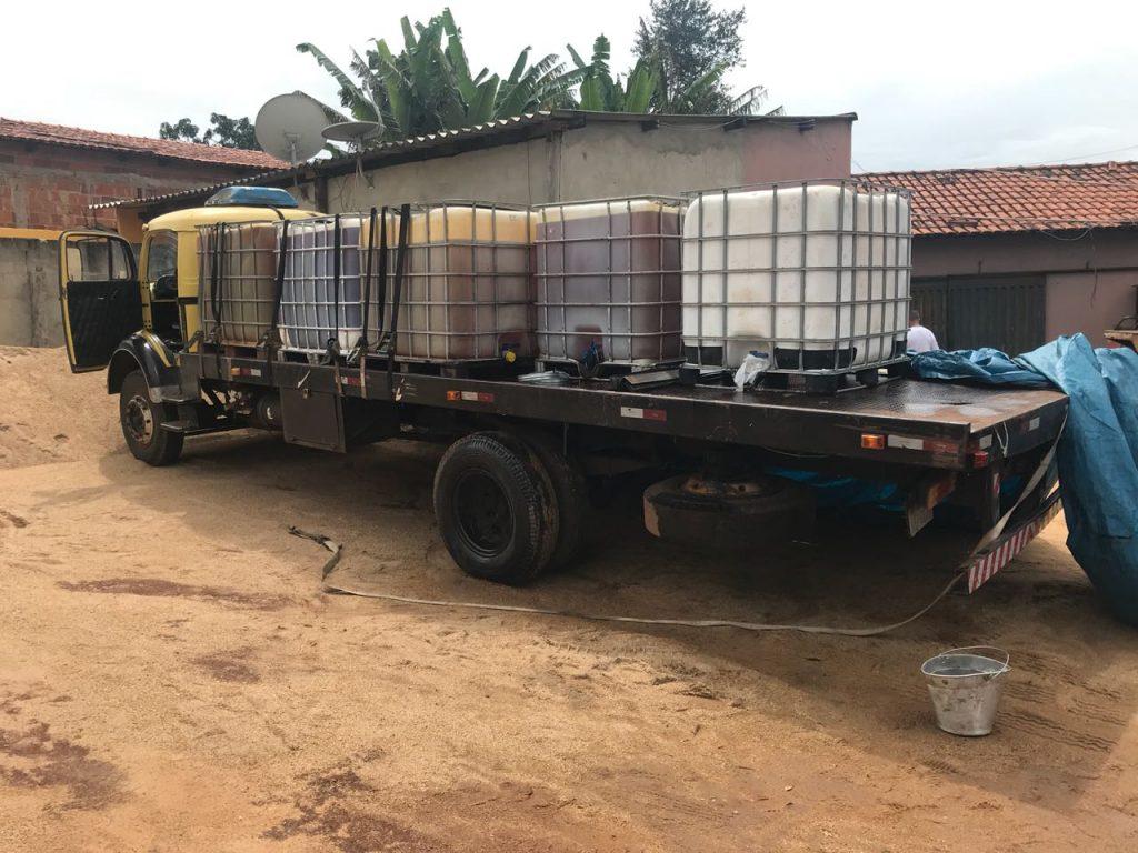 Presos quatro suspeitos de roubar combustíveis em Goiás