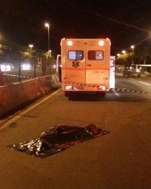 Dois pedestres morrem atropelados na BR-060, em Terezópolis