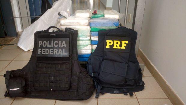 Homens são presos com carga de droga avaliada em R$ 2 milhões, em Mineiros