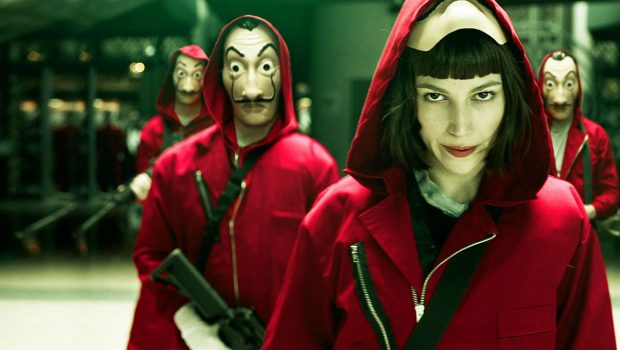 La Casa de Papel é a série mais assistida da Netflix sem ser em inglês