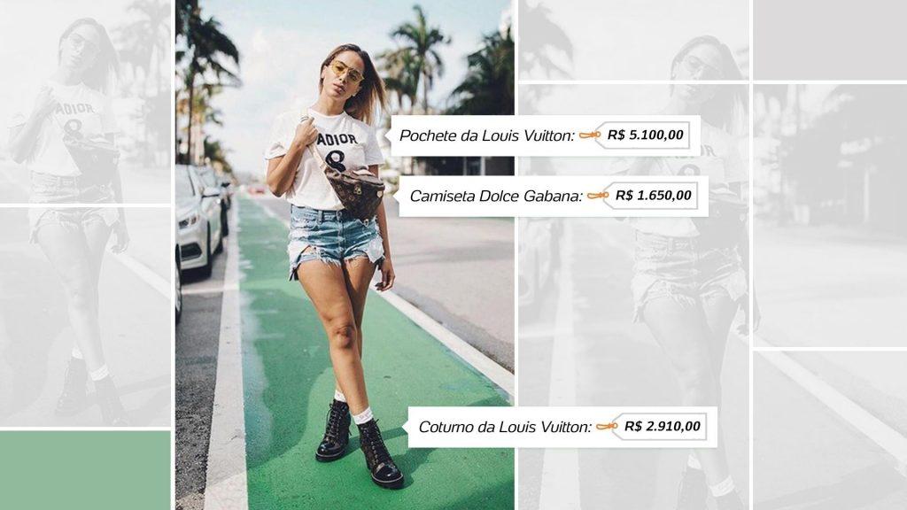 e699264bc Sem repetir nada em 5 dias, Anitta usa figurino básico que soma R$ 37 mil
