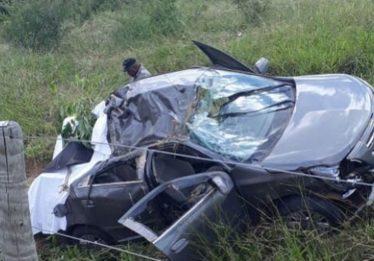 Acidente deixa dois mortos e dois feridos na GO-230, em Morro Agudo