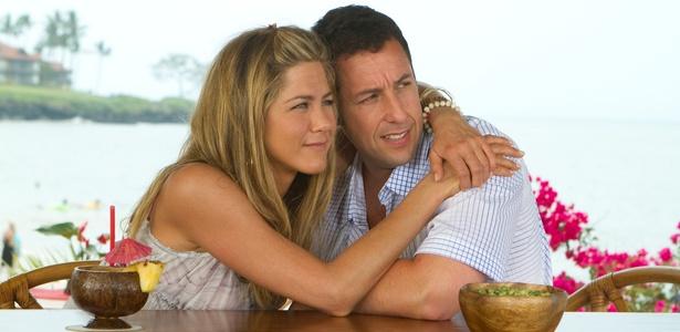 Jennifer Aniston e Adam Sandler juntos, mais uma vez