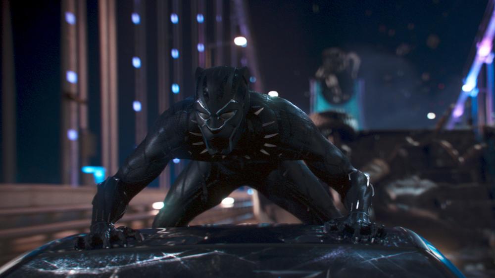 Pantera Negra já é a 3ª maior bilheteria da história nos EUA
