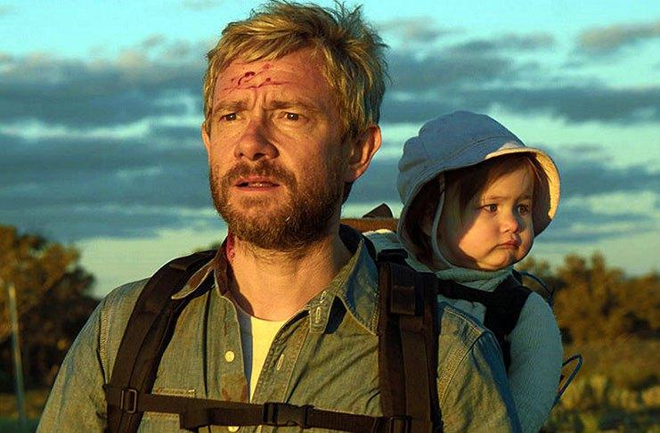 Sofra com um pai no apocalipse zumbi em 'Cargo'