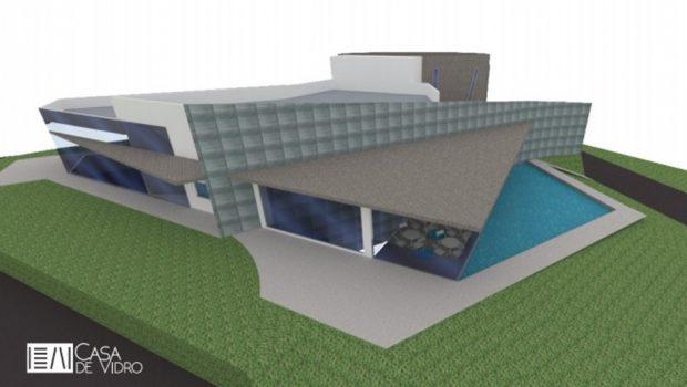 Com alterações no projeto inicial, obras da Casa de Vidro serão retomadas neste mês