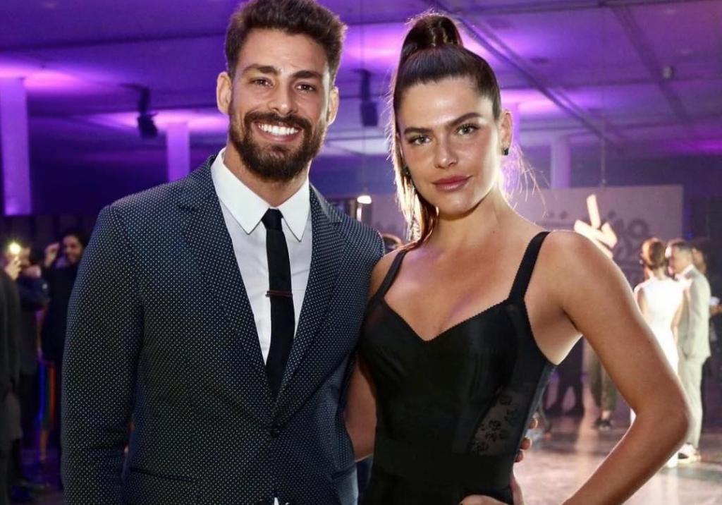 Cauã Reymond confirma volta do namoro com Mariana Goldfarb
