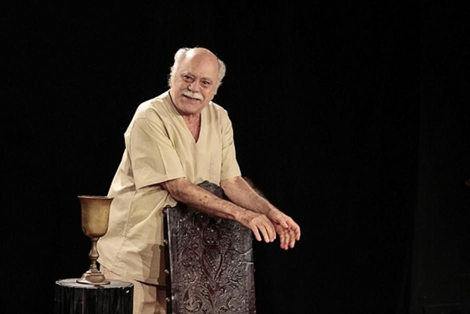 Tonico Pereira interpreta Sócrates em monógolo neste final de semana, em Goiânia