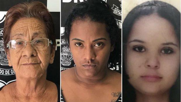 Avó, mãe e filha são presas por tráfico de drogas em Jataí