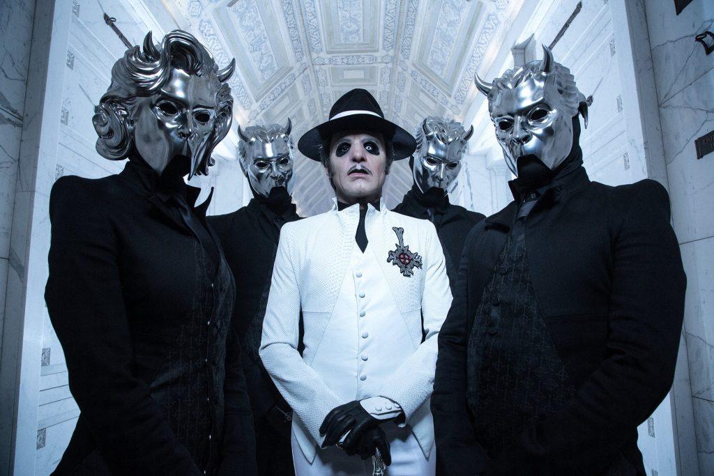 Ghost anuncia novo álbum e lança música