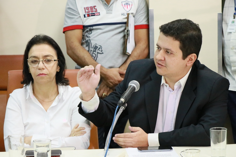 CEI da Saúde retira requerimento de pedido de prisão de Fátima Mrue