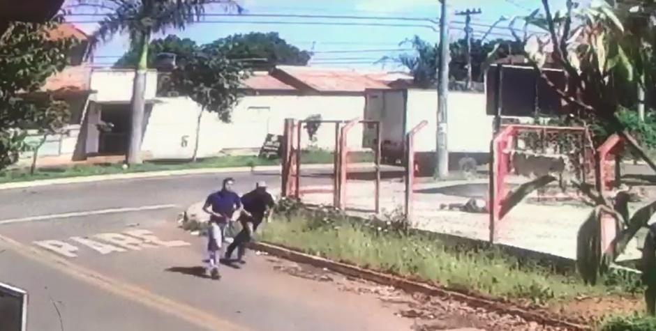 Câmeras flagram momento em que preso do semiaberto é executado no Conjunto Itatiaia