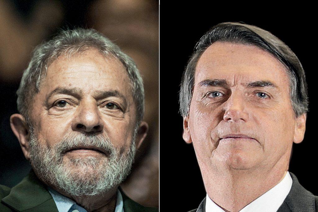Presidenciáveis Lula, 29,9%; e Bolsonaro, 20,6%; lideram lista de intenções de voto em Goiás