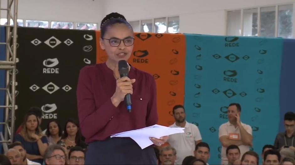 Marina se lança, de novo, pré-candidata à Presidência