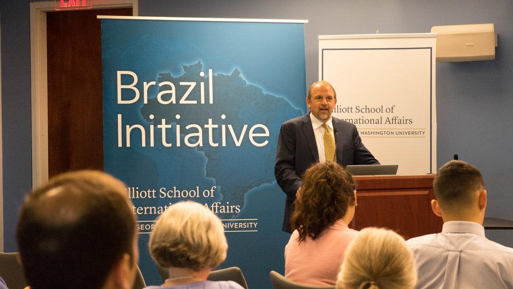Mark S. Langevin, da BrazilWorks, participa de fórum em Goiânia