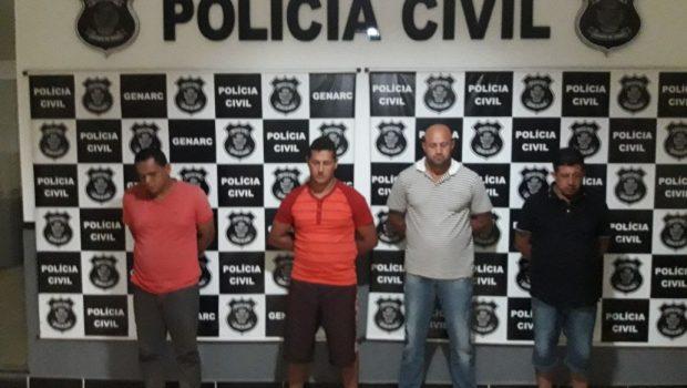 Quadrilha que furtava gado na região do Vale do São Patrício é presa em operação da PC