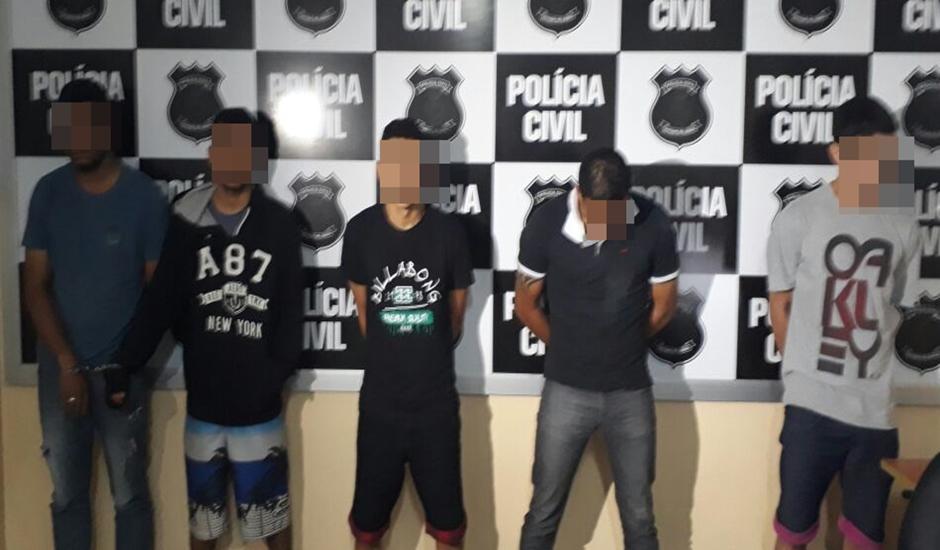 Operação prende ladrões de residências em Anápolis