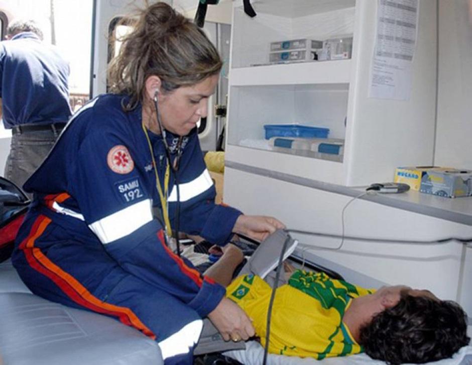 Em caso de urgência, paciente do SAMU pode ser levado para hospitais privados
