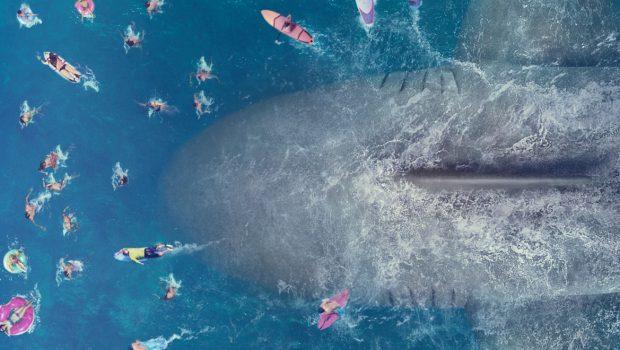 Jason Statham enfrenta tubarão gigante no trailer de 'Mega Tubarão'