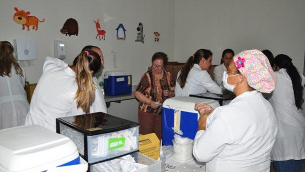 Goiânia já imunizou 91 mil pessoas durante a campanha contra a gripe