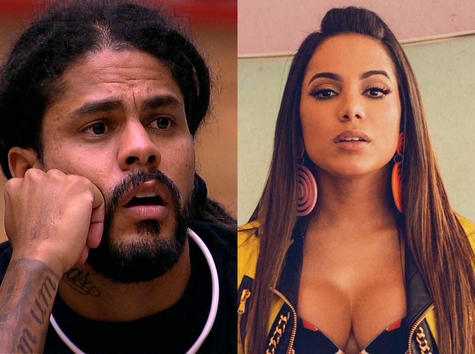 'Que dia ele sai mesmo?', questiona Anitta sobre o brother Viegas