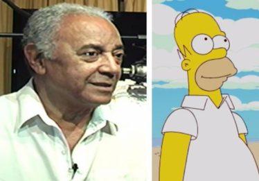 Morre Waldyr Sant'anna, primeiro dublador do Homer Simpson no Brasil
