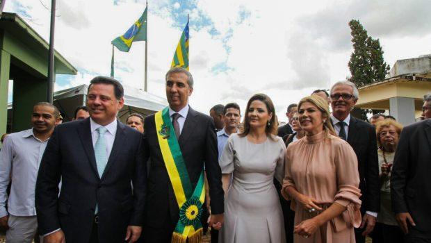 José Eliton toma posse como novo governador de Goiás