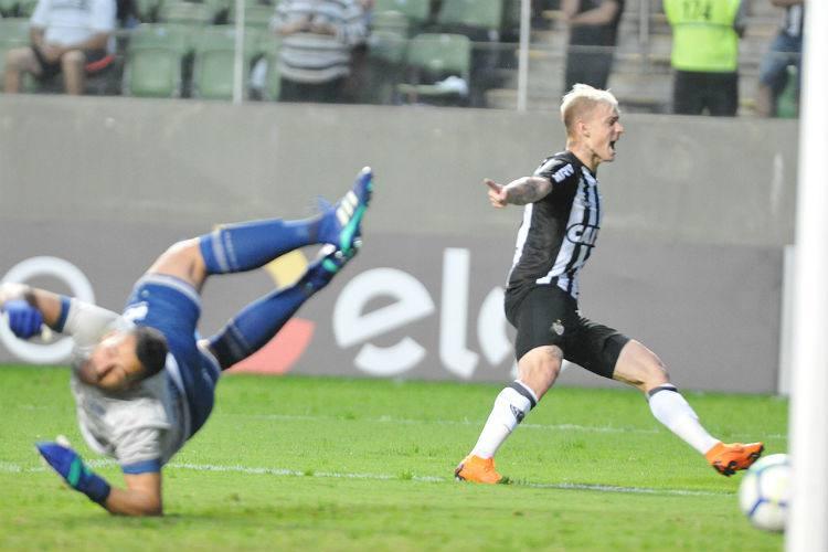 Com gol de Róger Guedes, Atlético-MG vence reservas do Cruzeiro no Brasileirão