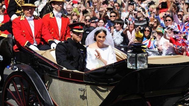 Príncipe Harry e Meghan Markle são declarados marido e mulher por arcebispo