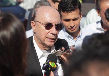 """""""Serei o primeiro presidente goiano do Brasil"""", diz Meirelles em Aparecida de Goiânia"""
