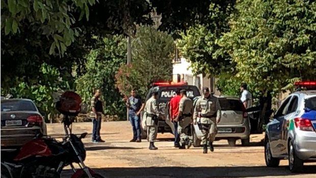 Pai mata filha com golpes de foice e é preso em flagrante, em Minaçu