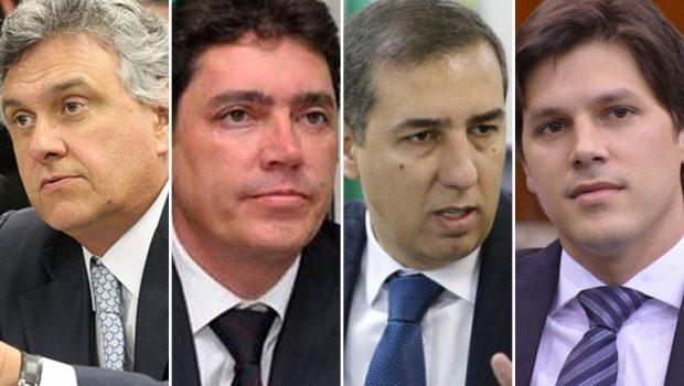 MPE protocola representação contra Ronaldo Caiado, Wilder Morais, José Eliton e Daniel Vilela