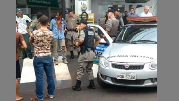 Por não conseguir abastecer, homem tenta atear fogo em posto de combustível em Rio Verde