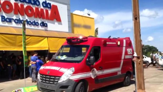 Funcionário de supermercado morre ao reagir a assalto, em Mineiros