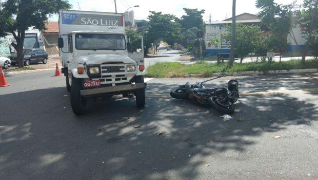 Idoso fica gravemente ferido após acidente de trânsito, em Campinas