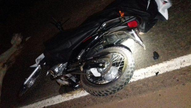 Motociclista morre após atropelar cavalo na BR-364, em Cachoeira Alta