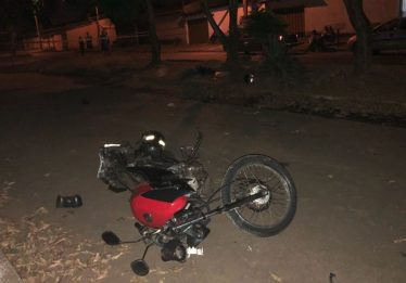 Motociclista morre em acidente no Condomínio das Esmeraldas, em Goiânia