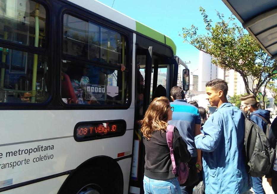 Transporte coletivo na região metropolitana funciona em horário especial neste fim de semana