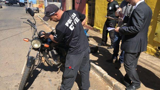 Força-tarefa tenta reduzir roubo de motos em Goiânia