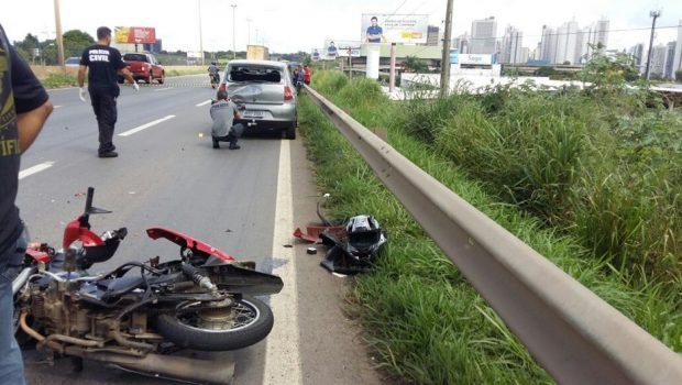 Mortes por acidente de trânsito em Goiás caíram 8,36% em 2018