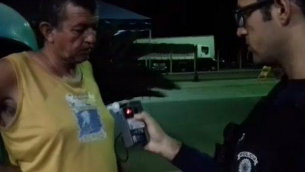 PRF prende carreteiro recordista de embriaguez ao volante na BR-153, em Porangatu