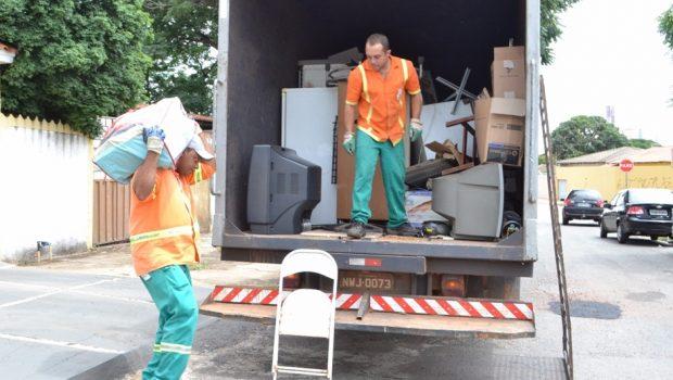 Cata-treco da Prefeitura de Goiânia recolhe nove mil itens em quatro meses