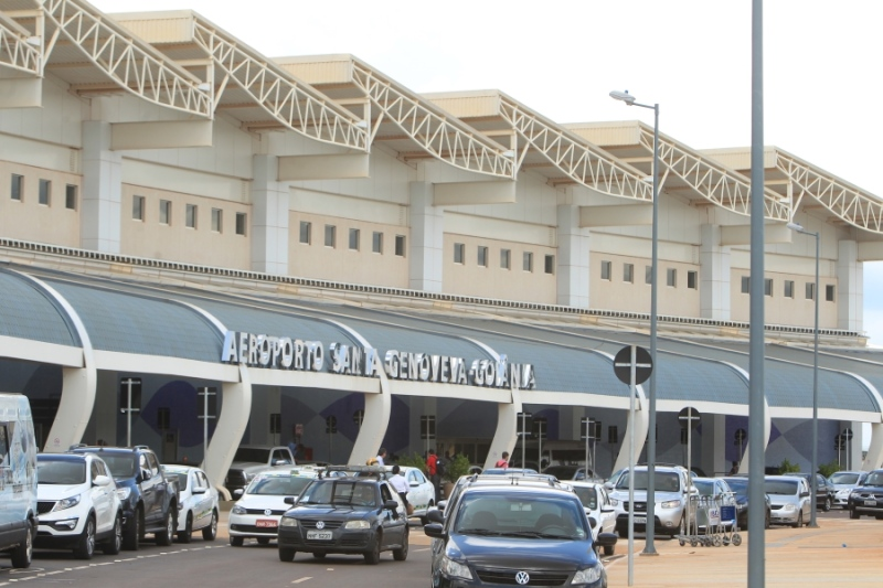 Aeroporto de Goiânia e mais 12 estão com falta de combustível até o momento