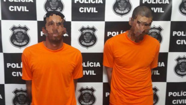Suspeitos de latrocínio na Zona Rural de Catalão são presos em atuação da PC e PM