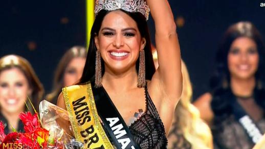 Veterana em concursos, nova Miss Brasil quer falar da Amazônia para o mundo