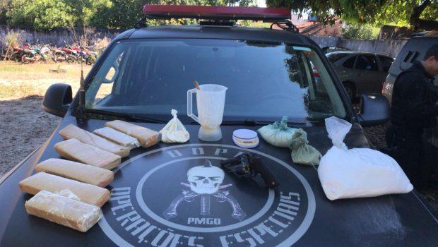 Suspeito de tráfico morre em confronto com o Bope em Porangatu